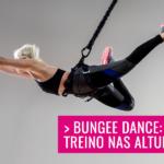Conheça o Bungee Dance: Treino nas alturas