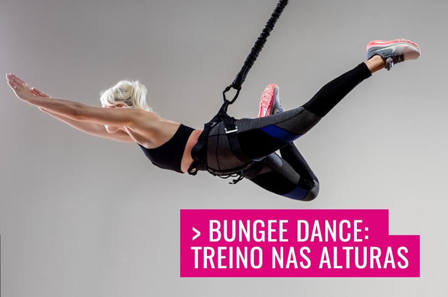 b00aed093e Conheça o Bungee Dance  Treino nas alturas - Honey Be Strong