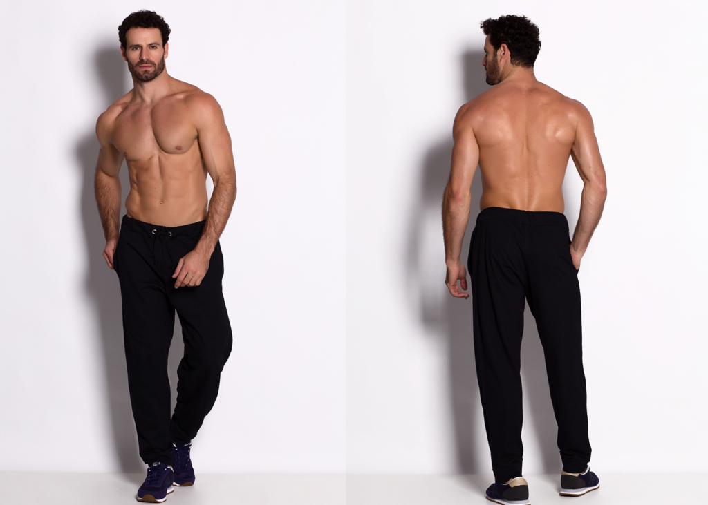 presentes dia dos namorados calça fitness masculina saruel moletinho