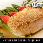 Atum com Crosta de Quinoa