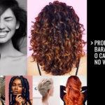 Produtos baratos para o cabelo no verão