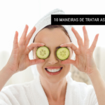 10 maneiras de tratar as olheiras