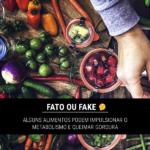 Fato ou Fake: alguns alimentos podem impulsionar o metabolismo e queimar gordura 🤔