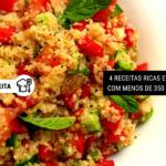 4 Receitas Ricas em Fibras com Menos de 350 Calorias [almoço ou jantar]