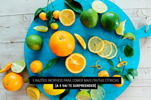 imagem com frutas cítricas como laranja e limão em cima de um prato