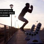 Treino Cardio Rápido de 3 Movimentos Usando Apenas o Seu Peso Corporal
