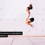 Treino Cardio Rápido de 4 Movimentos [sem equipamento]